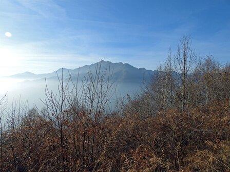 Corno bianco visto dal Monte Tre Croci