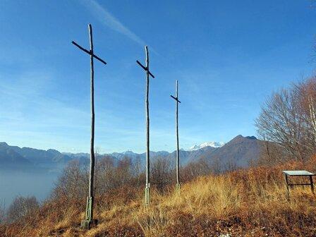 Vetta del Monte Tre Croci
