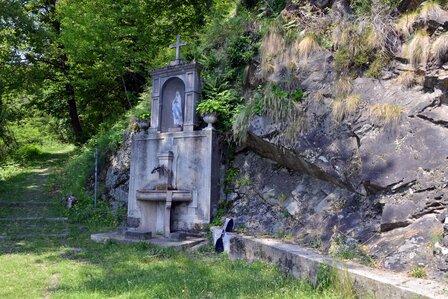 sorgente del santuario della Madonna del Fontegno