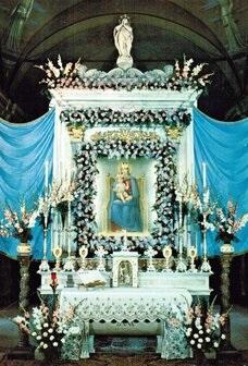 Altare del Santuario Madonna del Boden