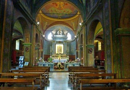Santuario Madonna del Boden - Interno