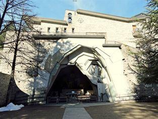 Santuario di Coazze, dedicato alla Madonna di Lourdes