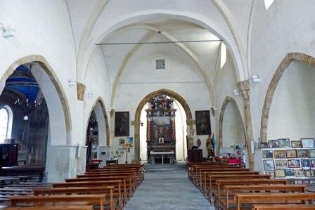 Santuario di S. Chiaffredo - Interno