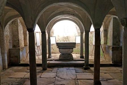 Abbazia Santa Maria di Cavour - Cripta