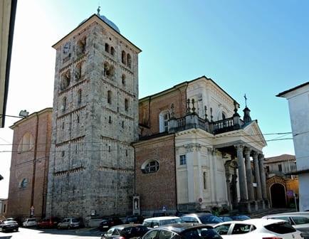 Abbazia di Fruttuaria e campanile XI sec