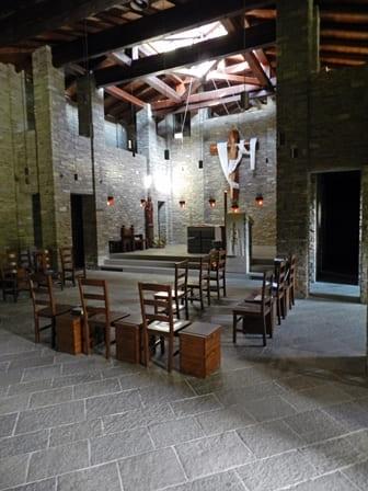 Interno Monasteto Pra d'Mill