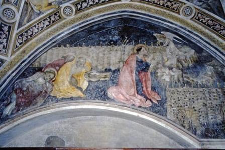Abbazia Sant'Antonio di Ranverso - Orazione nell'orto