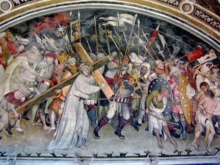 Abbazia Sant'Antonio di Ranverso - Salita al Calvario