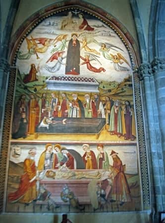 Sacra di San Michele - Affresco