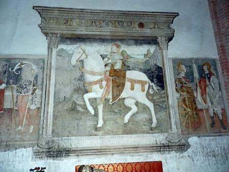 Abbazia dei Santi Nazario e Celso a San Nazzaro Sesia - Affresco