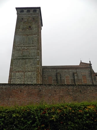 Abbazia dei Santi Nazario e Celso a San Nazzaro Sesia - Campanile
