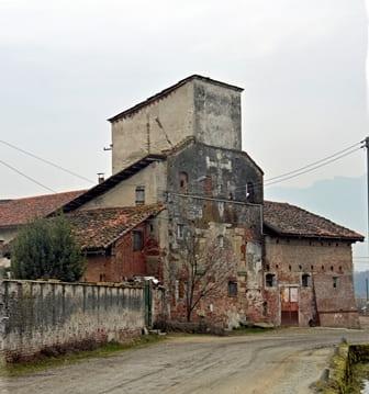 Abbazia di Staffarda - Ingresso al borgo