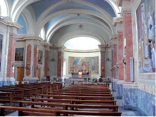 Chiesa di San Francesco di Sales interno