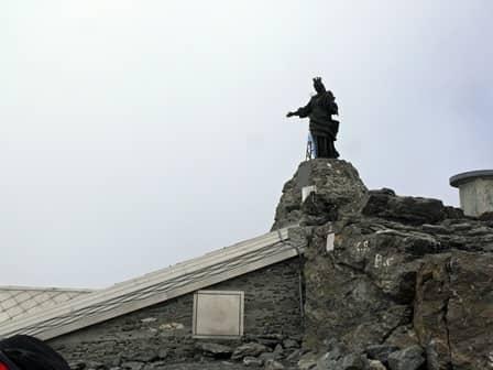 Madonna sulla vetta del Rocciamelone