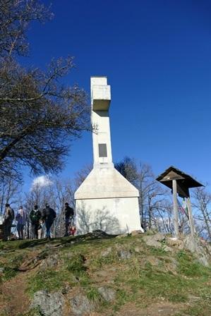 Croce sul monte Musiné