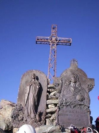 Croce sul Monviso