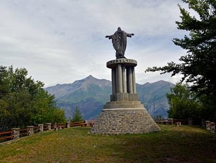 Monumento al Sacro Cuore di Gesù a Meana di Susa