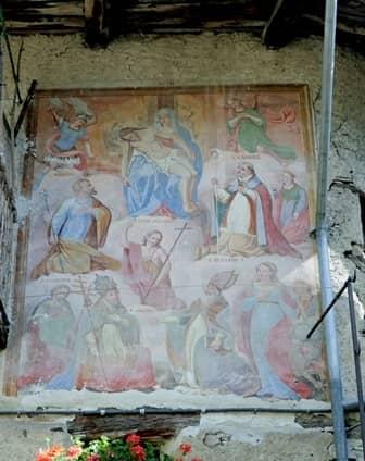 Mistà nella Borgata di Ussolo in Val Maira