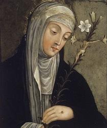 Quadro di Santa Caterina da Siena