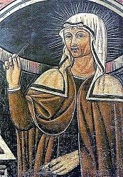 Rappresentazione di Santa Rita da Cascia