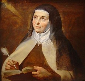 Quadro di Santa Teresa d'Avila
