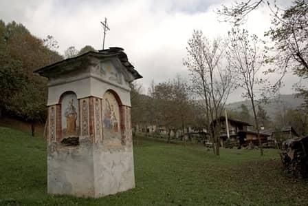 Pilone presso Ollasca, in val Grana