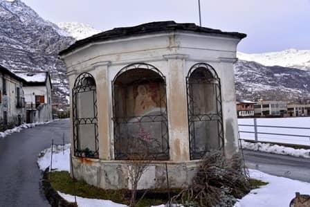 Foresto (val susa): Pilone a 3 fornici disposti in facciata