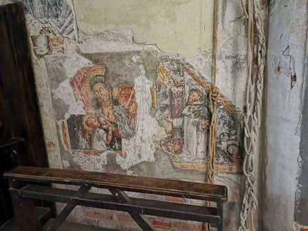 Madonna del latte nella chiesa di San Giovanni a Saluzzo