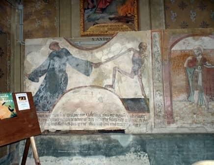 Danza macabra - Santuario della Consolata a Saluzzo