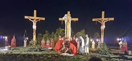 Sacra rappresentazione a Cavallermaggiore - Crocifissione