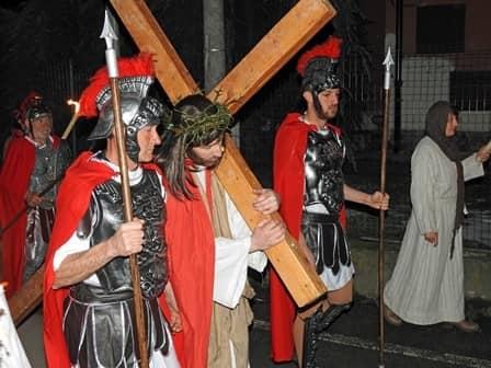 Sacra rappresentazione a Cavallermaggiore - Calvario