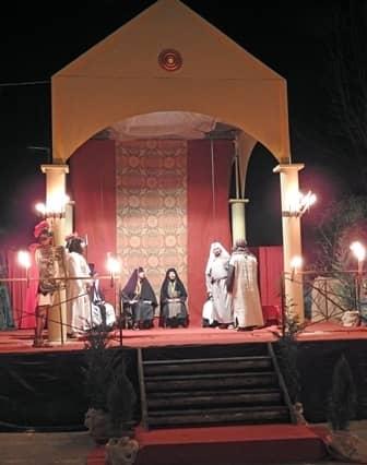 Sacra rappresentazione a Cavallermaggiore - Il Sinedrio