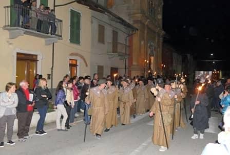 Sacra rappresentazione a Villafalletto - Pellegrini