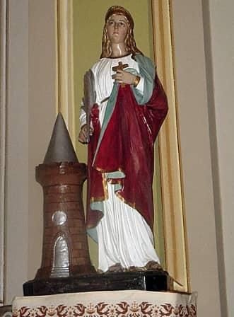 Santa Barbara nella Borgata Rodoretto di Prali
