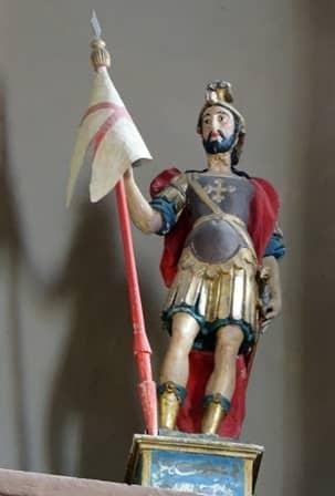 Statua di San Chiaffredo