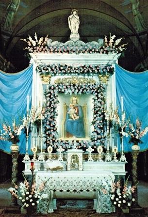 Santuario Madonna del Boden a Ornavasso - Altare