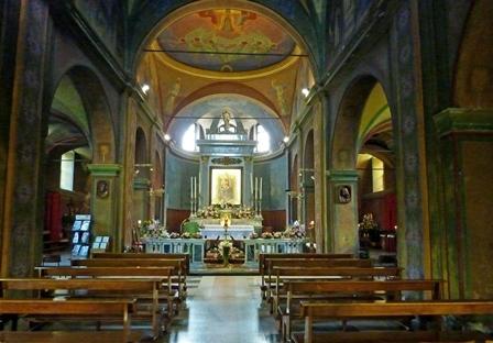 Santuario Madonna del Boden a Ornavasso - Interno