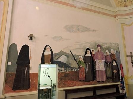 Santuario Madonna della Bassa - Affresco presbiterio
