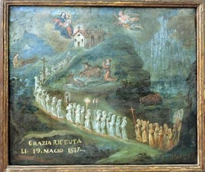 Santuario Madonna della Bassa - Ex voto
