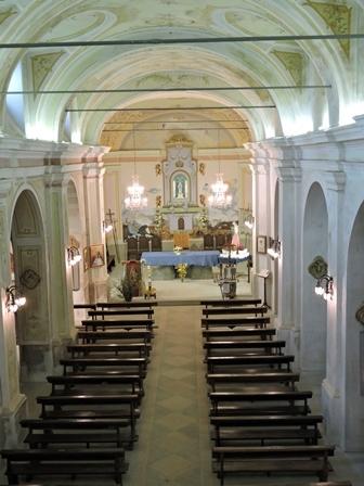 Santuario Madonna della Bassa - Interno