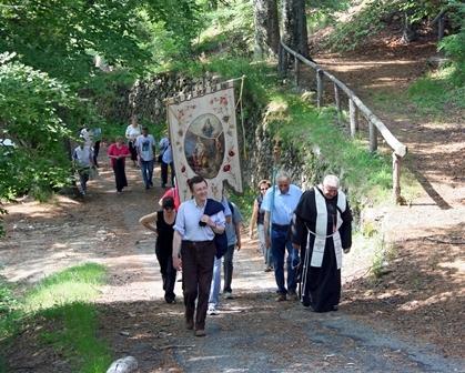 Santuario Madonna della Bassa - Processione