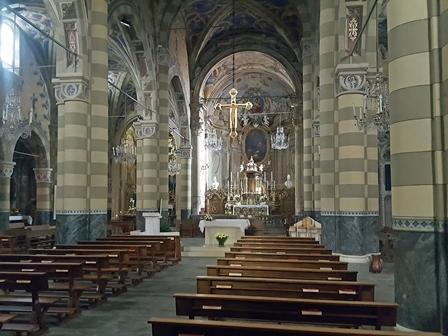 Interno Basilica di San Maurizio a Pinerolo