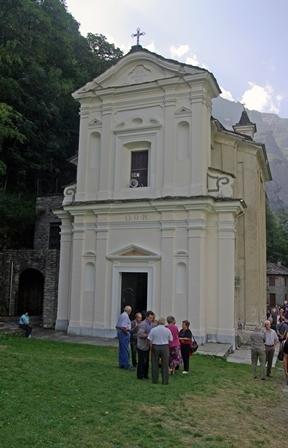 Santuario Madonna di Loreto a Groscavallo