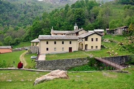 Santuario Madonna di Prascondù-Ribordone - Esterno