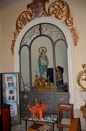 Santuario Madonna di Prascondù-Ribordone - Statua Madonna