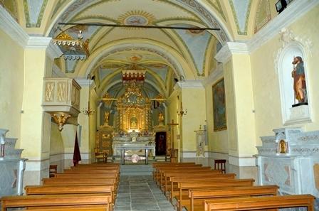 Santuario Madonna di Prascondù-Ribordone - Interno