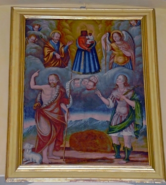 Santuario Madonna di Prascondù-Ribordone - Quadro