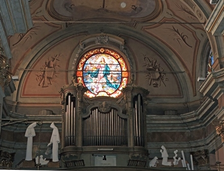 Interno Santuario di Nostra Signora della Stella 5