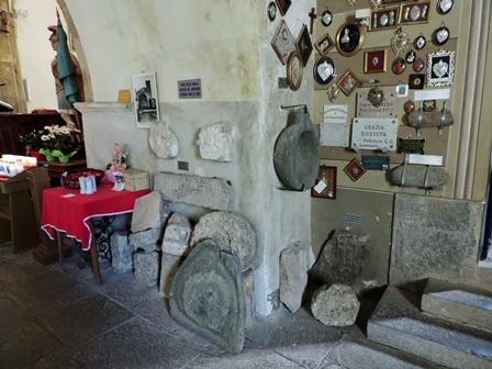 Santuario di San Chiaffredo - Lapidario