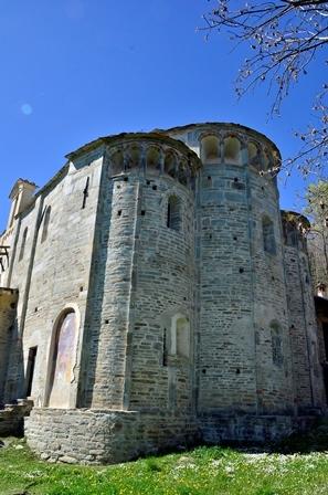Santuario San Costanzo a Monte (Villar San Costanzo) - Abside
